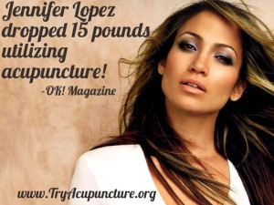 Jennifer Lopez weight loss acupuncture
